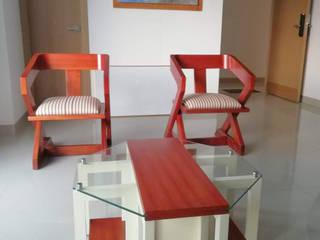 Sala de estar. de Etnia - Mobiliario e Interiorismo Minimalista