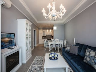 Modern living room by Технологии дизайна Modern