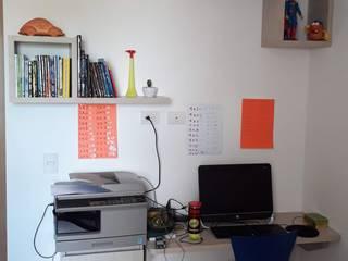 Zona de Estudio en habitación de Etnia - Mobiliario e Interiorismo Minimalista