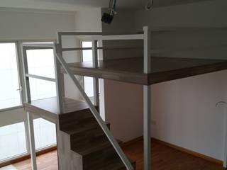 Create a Bed Loft (a.k.a. Furniture Deck or Mezzanine Floor) Modern study/office by BedLoft Modern