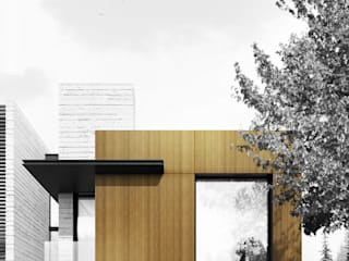 現代房屋設計點子、靈感 & 圖片 根據 HOA Architecture and Design 現代風