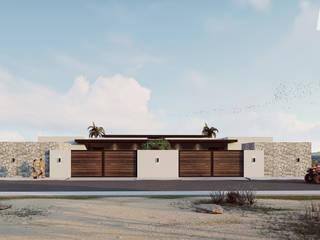Diseño de Condominios en la Playa de Merarki Arquitectos Moderno