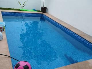 SERVICIOS Y ACABADOS PARA LA CONSTRUCCION 泳池 水泥 Blue