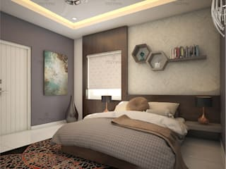 Monnaie Interiors Pvt Ltd BedroomBeds & headboards