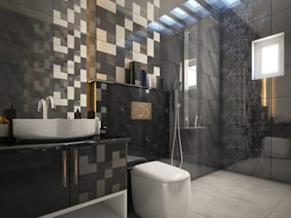 Monnaie Interiors Pvt Ltd BathroomDecoration