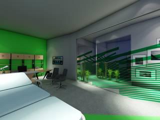 Dr.Elif Gökmen Fizik tedavi ve Rehabilitasyon merkezi Modern Çalışma Odası Akay İç Mimarlık & Tasarım Modern