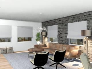 visualisatie van eengezinswoning van Studio Riho