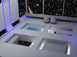 Materializziamo idee in tre dimensioni 3D Art studio Roma Camera da lettoAccessori & Decorazioni Ferro / Acciaio Bianco