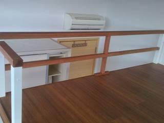 Create a Bed Loft (a.k.a. Furniture Deck or Mezzanine Floor) Rustic style bedroom by BedLoft Rustic