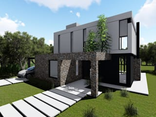 Minimalist house by Arq. German Vazquez Minimalist