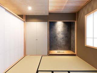 澄心の茶室 和風デザインの 多目的室 の あかがわ建築設計室 和風