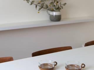 Lola Cwikowski Studio Sala da pranzo minimalista