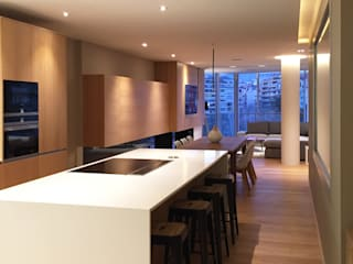 GARLIC arquitectos Built-in kitchens Quartz