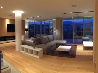 Livings de estilo moderno de GARLIC arquitectos Moderno