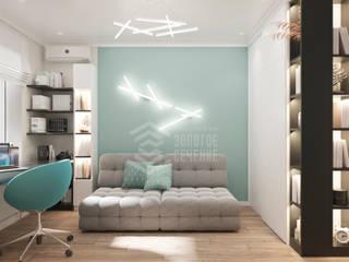Наше портфолио Детская комната в стиле модерн от СК Золотое Сечение Модерн
