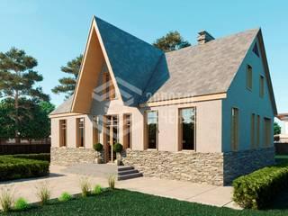 Строительство домов и коттеджей Дома в стиле модерн от СК Золотое Сечение Модерн