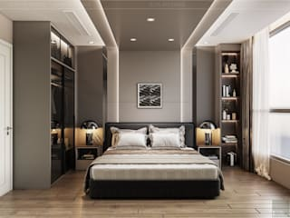 ICON INTERIOR Modern style bedroom