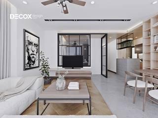 Modern living room by Công ty cổ phần nội thất DECOX Modern
