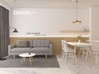 Minimalist living room by Công ty cổ phần nội thất DECOX Minimalist