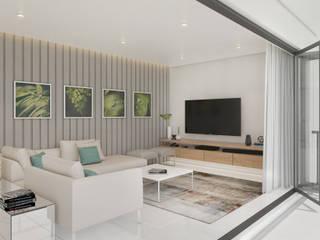 Tv Room Dessiner Interior Architectural Media room