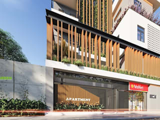 Công ty kiến trúc Villa Modern Modern