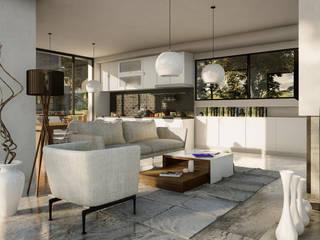 Casa Frida MORPH renders Casas minimalistas