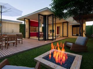 Casa Térrea com 2 dormitórios Casas modernas por Lozí - Projeto e Obra Moderno