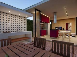 Casa Térrea com 2 dormitórios Cozinhas modernas por Lozí - Projeto e Obra Moderno