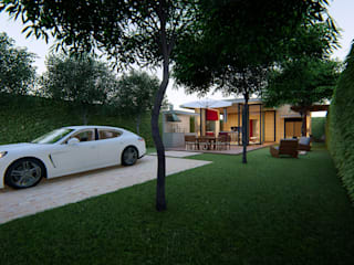 Moderne Garagen & Schuppen von Lozí - Projeto e Obra Modern
