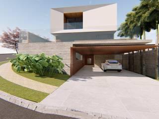 CASA CIDADE JARDIM Casas modernas por Lozí - Projeto e Obra Moderno