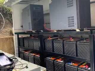 Sistema de Generación Aislado Espacios comerciales de estilo industrial de Proveedora Sadi SA de CV Industrial
