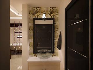 TVH PURASAIVAKKAM PROJECT JAIHO INTERIORS - RESIDENCE & COMMERCIAL INTERIORS Minimalist bathroom