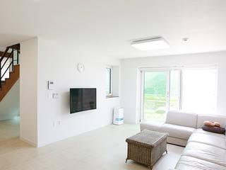 Klassische Wohnzimmer von 한글주택(주) Klassisch