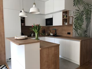 Modern kitchen by Conscious Space Korina Hortynska Modern