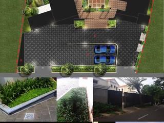 Design and Build Balkon, Beranda & Teras Tropis Oleh Reza Fauzi Tropis
