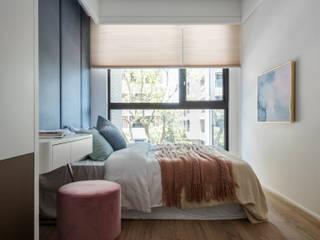 Chambre moderne par 辰境室內裝修設計有限公司 Moderne