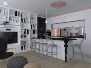 mieszkanie//49m Skandynawska kuchnia od TOTAMSTUDIO pracownia architektury wnętrz Skandynawski