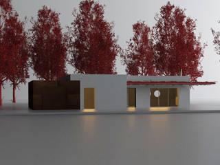 Concept piccola abitazione di Studio Thesia Progetti Minimalista