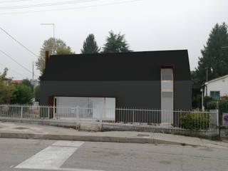 concept piccola abitazione di Studio Thesia Progetti