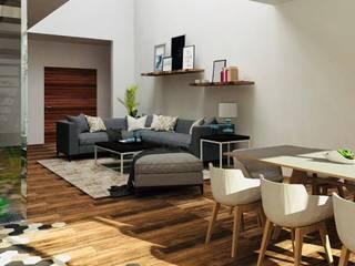 Minimalist dining room by ZERArquitectos Minimalist