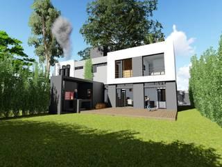Duplex Mellizos en Villa Elisa de Mc Govern estudio de arquitectura Moderno