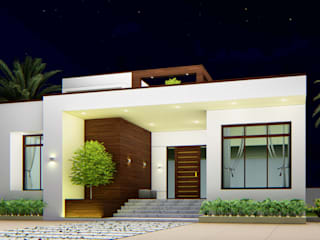 COURTYARD HOUSE by Bristan Architects & Interior Designers Minimalist