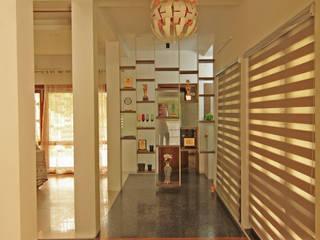 AH Residence, Alappuzha Modern living room by FOLIAGE Modern