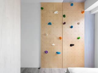 知域設計 Scandinavian style bedroom