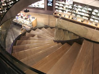 Allstairs Trappenshowroom Stairs Glass Transparent