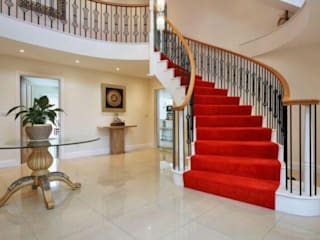 Helical Staircase in the Classical Style Boss Stairs Limited Tangga Kayu