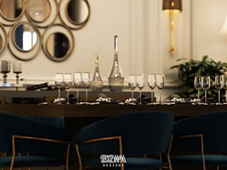 Comedores de estilo moderno de SIGMA Designs Moderno