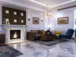 Salas de estilo moderno de SIGMA Designs Moderno