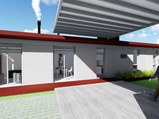 Proyecto de Vivienda de dos dormitorios de Mc Govern estudio de arquitectura Moderno