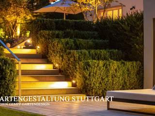 VILLENGARTEN STUTTGART Moderner Garten von GEMPP GARTENDESIGN - Gartenplanung Gartengestaltung Landschaftsbau Modern